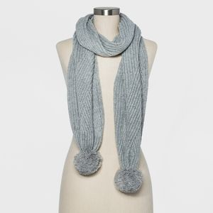 A New Day - Pom Pom Scarf